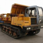 2001 Morooka MST 1500VD Crawler Carrier