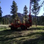 CME Drill Rig Working in Colorado - Drilling Industry