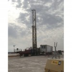 Complete RD 20 drill rig set up