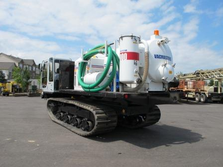 Crawler Carrier Rentals with Vacmaster Units