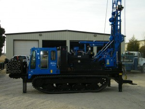 Diedrich D120 Drill Rig Mounted On IHI IC70 Crawler Carrier