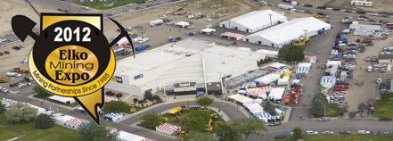 Aerial View of Elko Mining Expo Where Terramac is Exhibiting