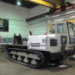 Terramac® RT9 Crawler Carrier with Drill Frame Configuration