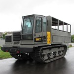 Terramac® RT9 with Personnel Carrier Front View