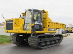 Komatsu CD110R Rotating Crawler Carrier