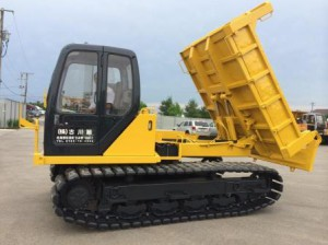Komatsu CD60 Rotating Crawler Carrier