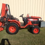 Kubota B7500 HST Drill Rig for Sale