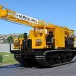 Track Mounted Mobile B-57 Drill Rig