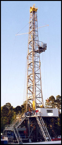 Drill Rig for Oil and Gas Drilling