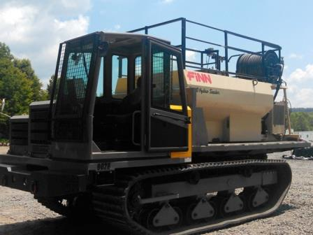 Rental Crawler Carriers with Hydroseeder