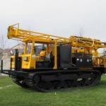 Rubber Tracked Mobile B-59 Drill Rig