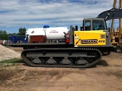 Rubber Tracked Pipe Heating Unit for Pipeline