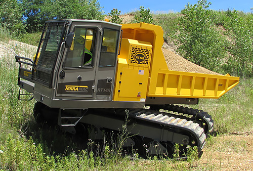 Rubber Tracked Rotating Crawler Carrier for Mining