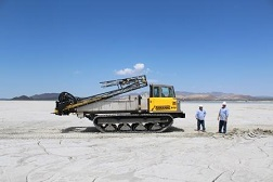 Rubber Tracked Spray Boom Mining Application for Sale