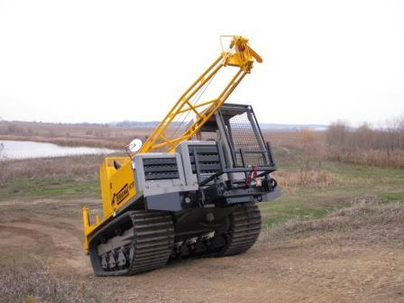 Terramac Crawler Carrier with CME Drill