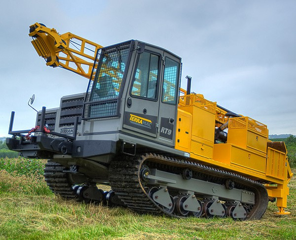 Terramac® RT9 crawler carrier with Diedrich D90 drill