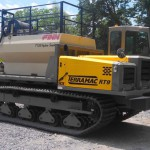 Terramac crawler carrier with Hydroseeder