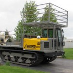 Terramac Track Mounted Straw Blower Rental