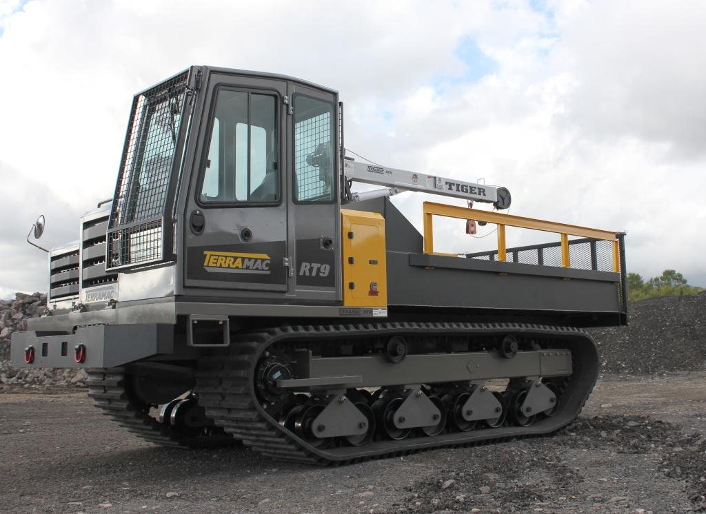 Terramac® RT9 Crawler Carrier With Water Tank