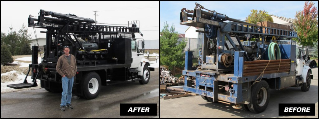Drill Pro's Diedrich D-120 Before & After Shots