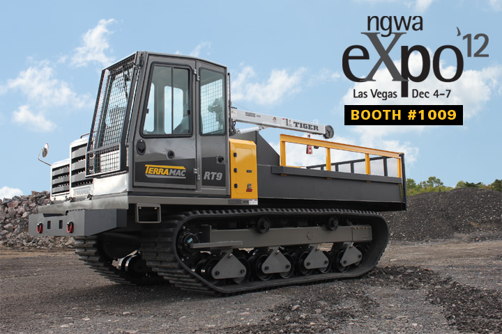 Terramac RT9 Crawler Carrier to be showcased at NGWA Expo