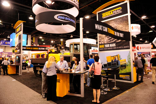 Rig Source Features Terramac RT9 at Minexpo and on World Mining Website