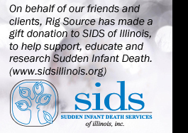 Rig Source supports SIDS of Illinois