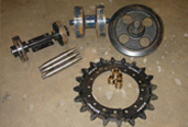 crawler carrier parts - sprockets and rollers