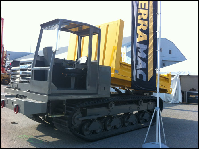 Terramac RT9 Carrier at Northern Mines Expo