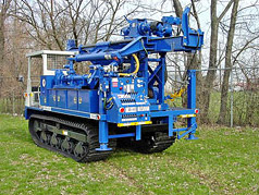 Mobile Drill Rigs: Mobile B-48 on IHI Crawler Carrier