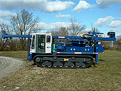 Mobile Drill Rigs: Mobile B-540 Truck Mounted