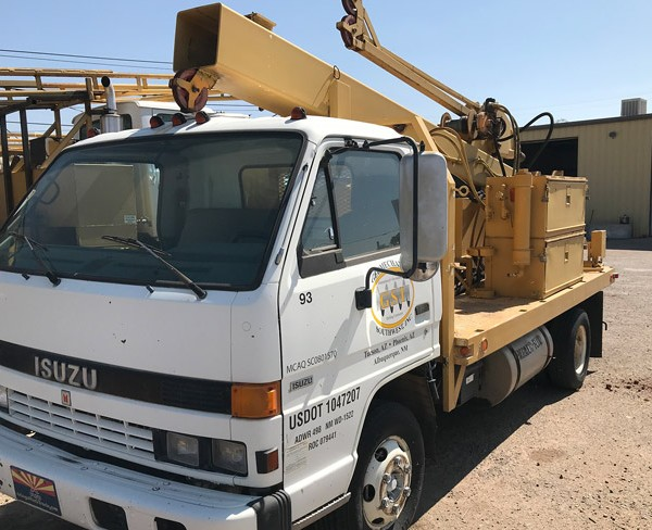 AMC-direct-push-drill-rig-side-view