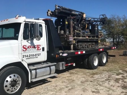 CME 55 Rig And Haul Truck for Sale