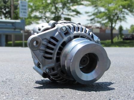 Crawler Carrier Alternators