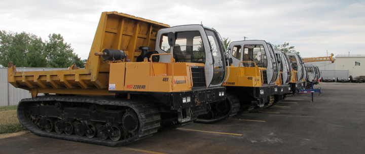 Crawler Carrier Rentals Lined Up and Available