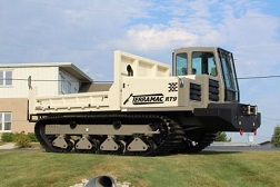 Crawler Carrier with Lineman Winch for Utility Industry