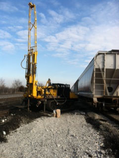 Drill Rigs in Action by Earth Solutions