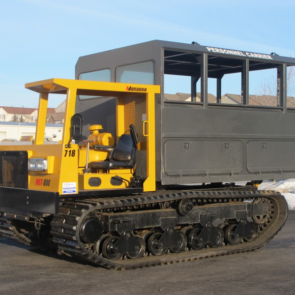 Morooka MST800 Crawler Carrier with Personnel Carrier