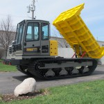 Terramac® RT9 Crawler Carrier with Rock Bed