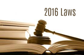 2016 Laws Expected to Affect Customers