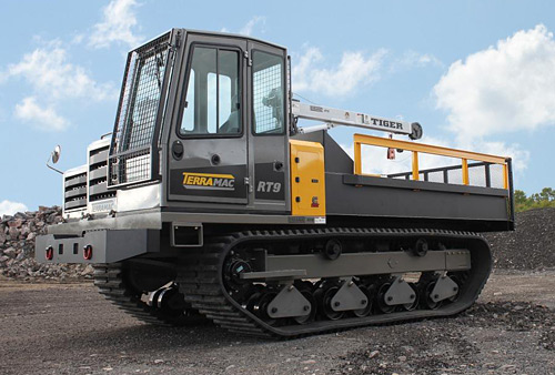 Rubber Tracked Crane for Mining