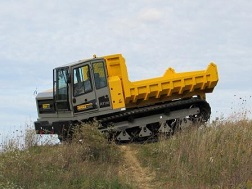 Terramac RT14 Crawler Carrier on Pipeline Projects