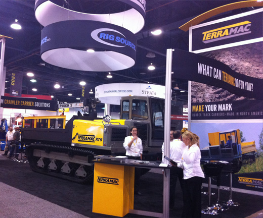 Terramac Booth at MineExpo