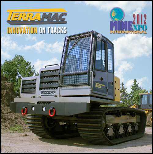 Introducing the Terramac RT9 Crawler Carrier at MineExpo