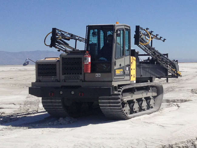 Terramac RT9 Rubber Track Crawler Carrier with Spray Boom