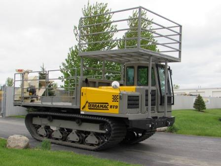 Terramac Track Mounted Straw Blower