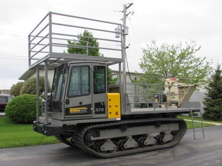 Terramac with Straw Blower for Sale