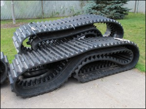 Crawler Carrier Rubber Tracks
