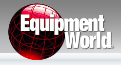 Equipment World Logo: Company Featuring Terramac