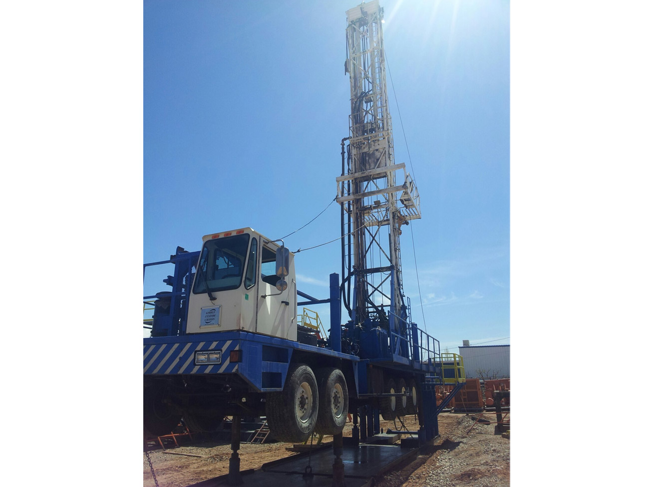 Gefco Ss185k Used Drilling Rig For